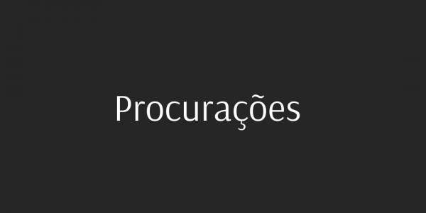 Procurações